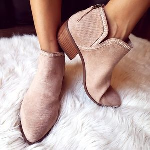 Shoes - 📣LAST PAIR//The Indiana// Taupe Ankle Bootie